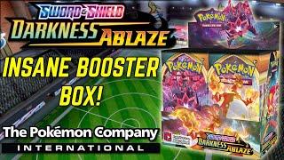 INSANE Pokemon Darkness Ablaze Booster Box Opening! by The Pokémon Evolutionaries