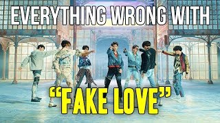"Video Everything Wrong With BTS - ""Fake Love"" MP3, 3GP, MP4, WEBM, AVI, FLV Juni 2019"
