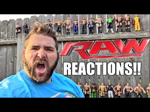 Wwe Raw Reactions: Roman Reigns Beat Down! Full Show Results And Review 4/18/16