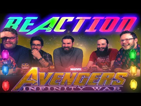 Marvel Studios' Avengers: Infinity War - Official Trailer REACTION!! (видео)