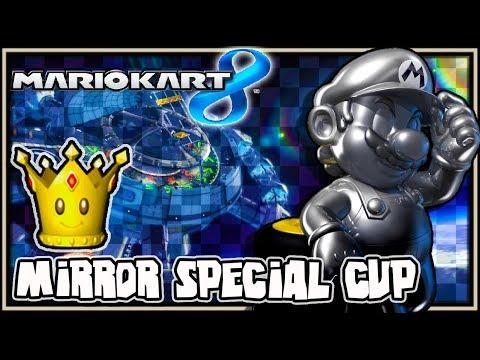 Mario Kart 8 Wii U - (1440p) Mirror Mode - Part 4 Special Cup