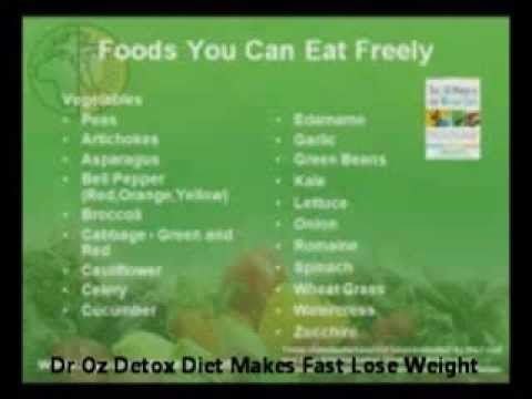 Dr Oz Detox Diet Makes Fast Lose Weight | drozdetox.com