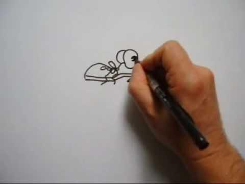Cartoon und Comiczeichnen, schnellzeichnen, speed painting, witziges zeichnen, lustige Geschichte