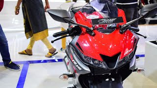 Video Yamaha R15 V3 Race Edition launched   with Daytona Exhaust MP3, 3GP, MP4, WEBM, AVI, FLV Juli 2018