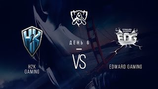 H2k vs EDG, game 1