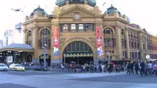 Melbourne City Time Lapse 3 CC-BY