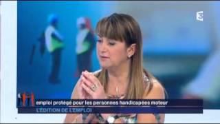 Ludres France  city pictures gallery : Reportage l'édition de l'emploi : FRANCE 3 - APF LUDRES