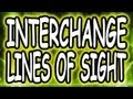 MW3 Lines of Sight - Interchange (Modern Warfare 3)