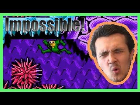 TMR VS The Impossible Battletoads Level!