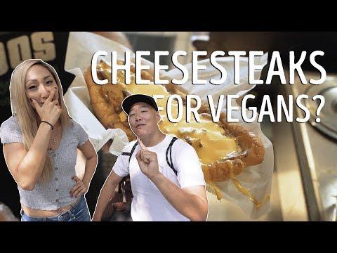 FEEDING A VEGAN CHEESESTEAKS FT. ELLEN KIM