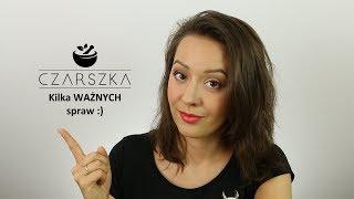 Kilka ważnych spraw musiałam wyprostować :)Ściskam!P.Sklep z moimi balsamami myjącymi: http://czarszka.pl/___Zajrzyj tutaj:FB: http://www.facebook.com/czarszkaIG: http://instagram.com/czarszkaBlog: http://czarszka.blogspot.com/Vlogi: http://www.youtube.com/czarszkainaczejBajki: http://www.youtube.com/czarszkabajkowyswiat___Napisz do mnie: czarszka@gmail.comPaulina Czarszkaskr. poczt. 44.77-400 Złotów