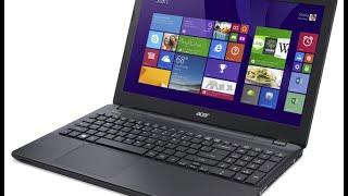 Ноутбук Acer Aspire E5 511G Распаковка Обзор