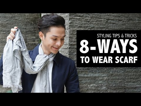 , title : '8 WAYS TO WEAR SCARF | MEN FASHION TIPS'