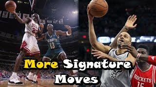 Video 10 MORE Great Signature Moves In NBA History! - Part 2 MP3, 3GP, MP4, WEBM, AVI, FLV November 2018