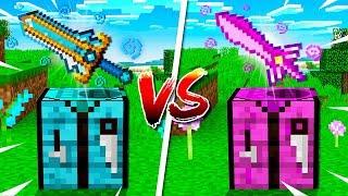 Video Boy vs Girl $1,000,000 Minecraft Sword Challenge MP3, 3GP, MP4, WEBM, AVI, FLV Juni 2019
