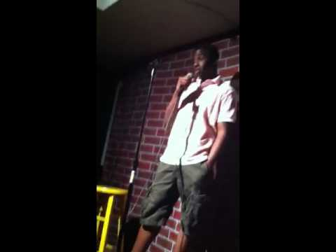 Malik's first stand up comedy