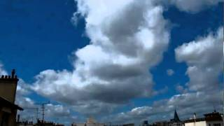 animation nuages 001  Time lapse