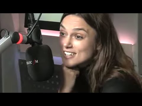 Keira Knightley on learning to sing and play the guitar