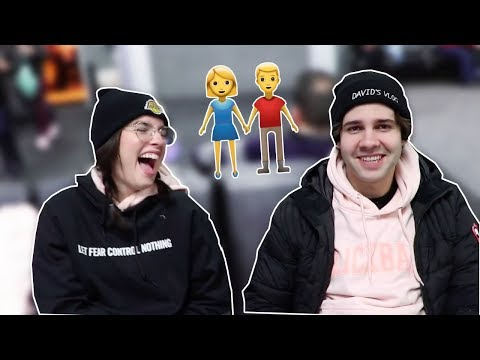 David Dobrik and Natalie Noel being best friends for 6 minutes straight