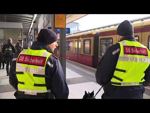 S-Bahnwachen für mehr Sicherheit / Nahaufnahme