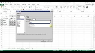 Microsoft Excel 2013 pt 3 (Fill Handle Formula, sample exercise)
