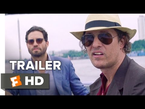 Gold Official Trailer 1 (2016) - Matthew McConaughey Movie