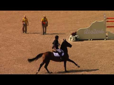 Nick Skelton olimpiai aranyat �r� p�ly�ja