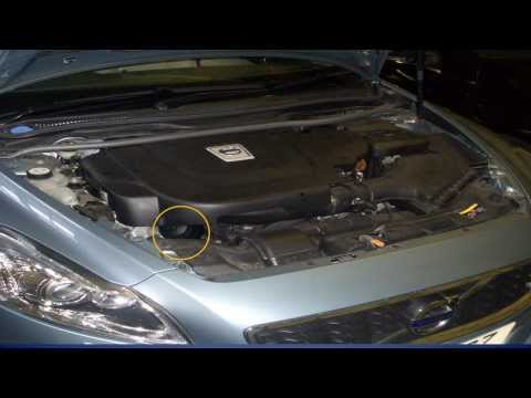 Volvo C70 :- How to change the oil and oil filter