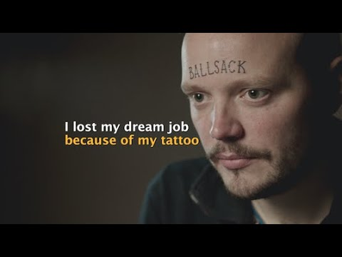 Teacher lost his job because of his tattoo
