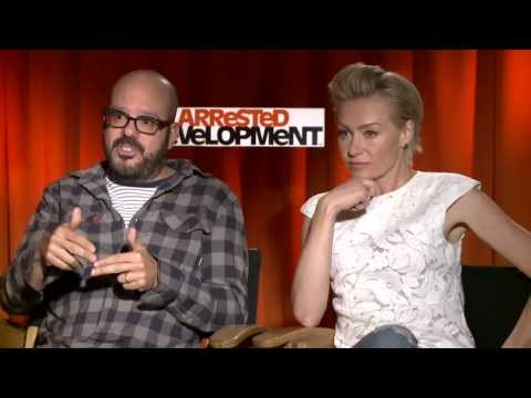 cross - Portia de Rossi & David Cross explain the new and unique take on the return of