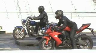8. V Star 1300 Drag Race 072