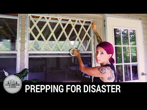 How To Prepare For a Hurricane Now