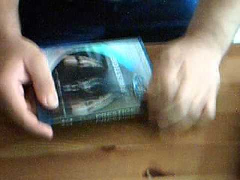 The Prestige Blu Ray Unboxing