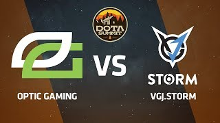OpTic Gaming против VGJ.Storm, Вторая карта, DOTA Summit 9 LAN-Final