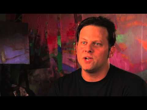 rutenberg - Artist Brian Rutenberg brings us into his studio to discuss the evolution of his art, the Fulbright he received to Ireland, and what he is doing now.