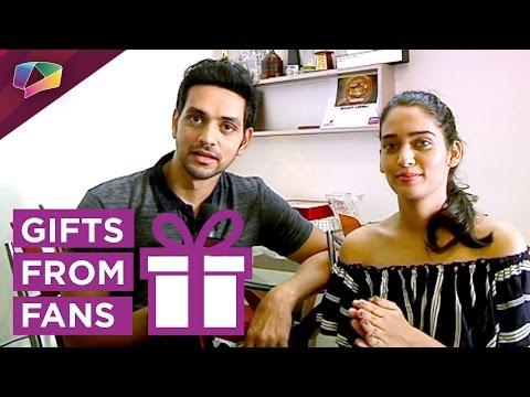 Shakti Arora and Neha Saxena Diwali gift segment p