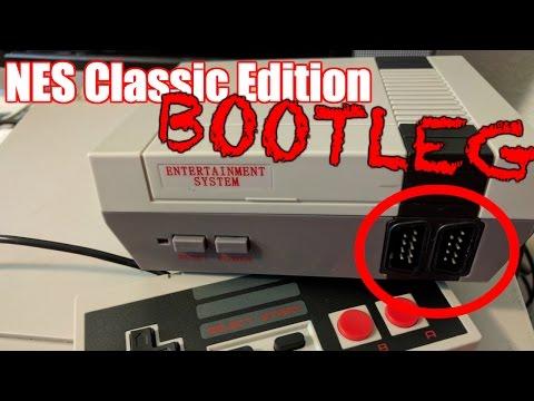 NES Classic CLONE -- Bootleg NES Mini Review