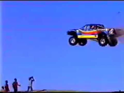 Robby Gordon Big Gap Jump Thanksgiving Glamis 2000 #1