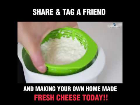 Microwavable Cheese Maker With Free Recipes
