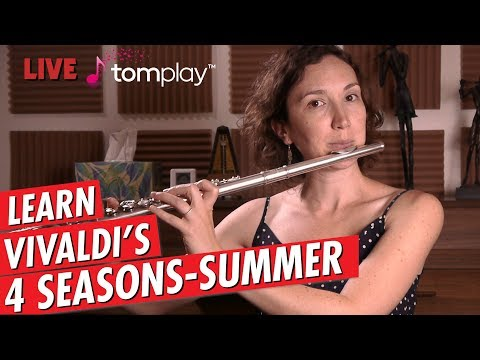 Just Practicing with Amelie | Vivaldi | Summer from the 4 Seasons