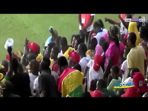 CAF U17  Ghana 5 0 Gabon - Highlights & GOALS