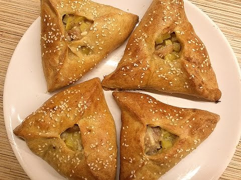 Пироги с курицей и картошкой - DomaVideo.Ru