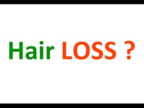 DIY : HOW TO STOP HAIR LOSS - Do it yourself