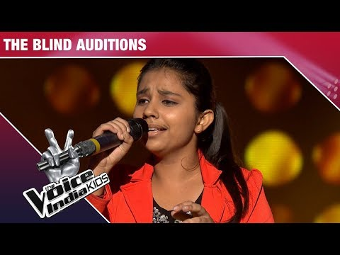 Video Tannishtha Puri Performs On Mayya   The Voice India Kids   Episode 5 download in MP3, 3GP, MP4, WEBM, AVI, FLV January 2017