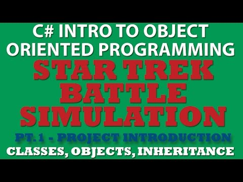 C# Star Trek Battle Simulator Pt.1: Project Analysis and UML Diagram