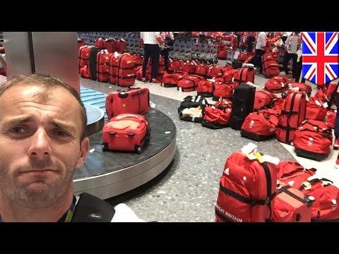 英國奧運委員會出了個餿主意讓選手都用「紅色行李箱」,結果當他們一從里約歸國後就悲劇了…