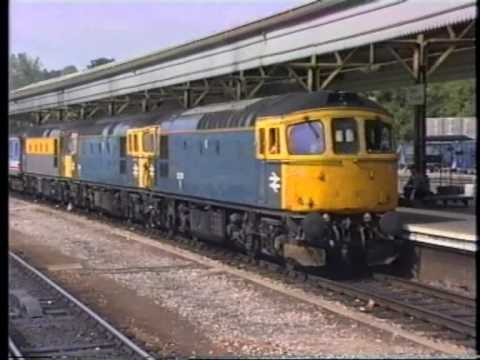 class 33's out to play Salisbury & Exeter 6.7.91 (Full Version)