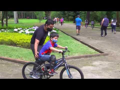 Parques habilitados para el disfrute de las familias
