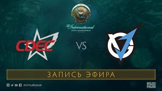 CDEC vs VG.J, The International 2017 Qualifiers [Crystalmay]