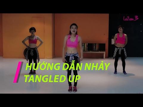 Nhảy Zumba | Hướng dẫn nhảy Tangled Up | Tango | Zumba Fitness Vietnam | Lazum3
